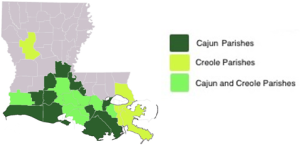 cajun creole genealogy